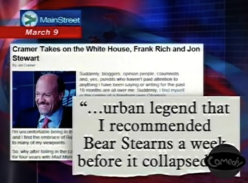 Notice how the Daily Show uses exact cutout quotes from original sources