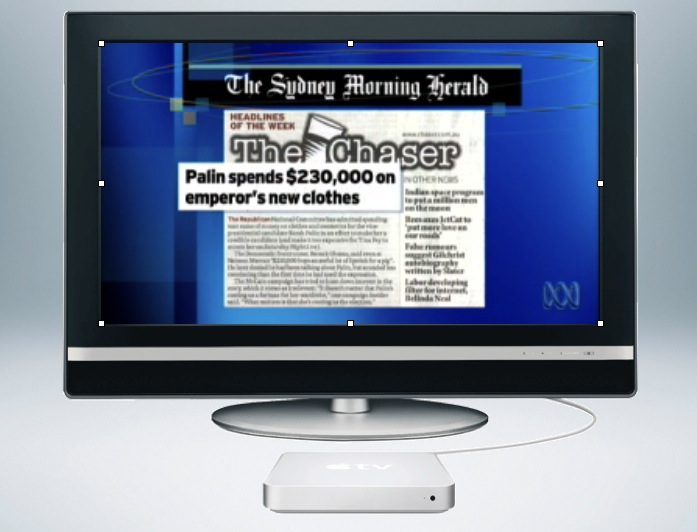 Current Affairs program, the ABC's Media Watch