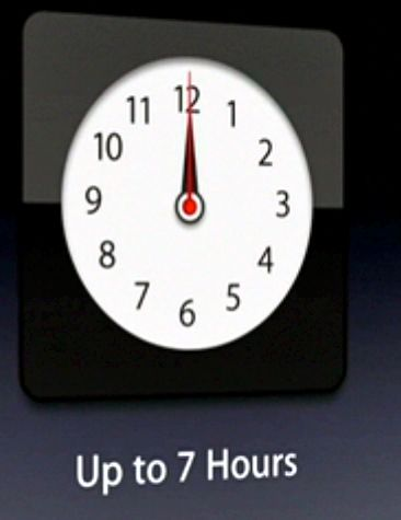 An App-like clock starts the sequence...