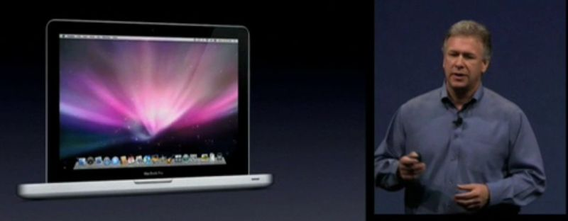 Phil Schiller discussed the new Macbook range